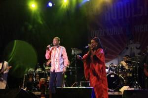 Youssou N´Dour & Le Super Étoile de Dakar beim TFF.Rudolstadt, 2011