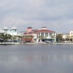 Downtown Celebration, Florida. Geplant von der Walt Disney Company. Foto von Bobak Ha