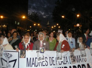 Madres de Plaza de Mayo (Línea Fundadora). Buenos Aires, Oct 2006.