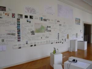 Abschlusspräsentation Studio 2, Antipodium Akt 1, Künstlerhaus Bregenz 2008
