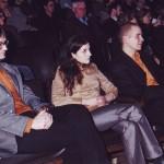 Verleihung Radiopreis Erwachsenenbildung 2001 an Sabina Auckenthaler, Matthias Bernhart und Gerald Knell