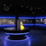Zone 1 (Ausstellungsaufbau): Planeten. Kontinente, Ressourcen