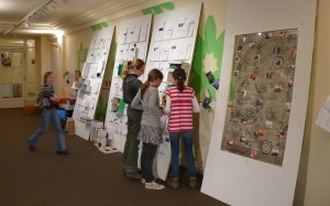 Mediathek und Dokumentationsarchiv während der Winterakademie 3